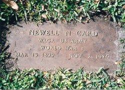 Newell N Card