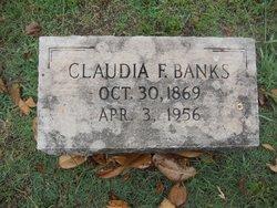 Claudia F Banks