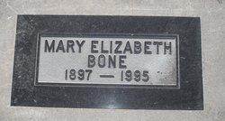 Mary Elizabeth <i>Steed</i> Bone