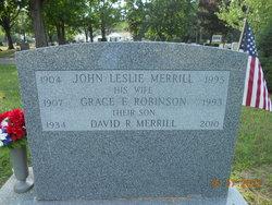 Grace Elizabeth <i>Robinson</i> Merrill