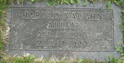 Harold Vaughn Abley