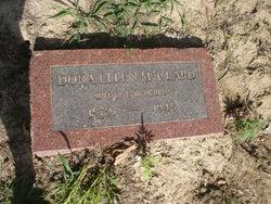 Dora Ellen <i>McClard</i> Acord