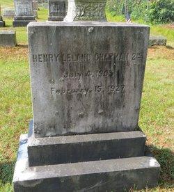 Henry Leland Chapman, II