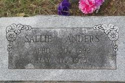 Sallie <i>Givens</i> Anders