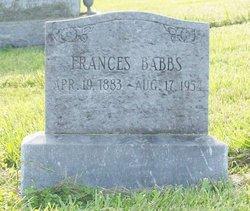 Frances M. Babbs