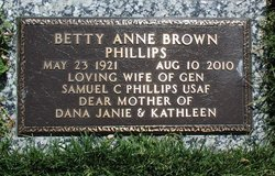 Betty Anne B.A. <i>Brown</i> Phillips