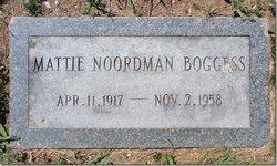 Mattie <i>Nordmann</i> Boggess
