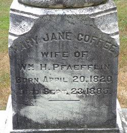 Mary Jane <i>Coffey</i> Pfaefflin