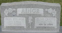 Elsie <i>Curtis</i> Ainge