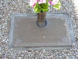Florence <i>Larson</i> Laudon