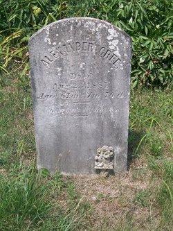 Alexander Elliott Cree
