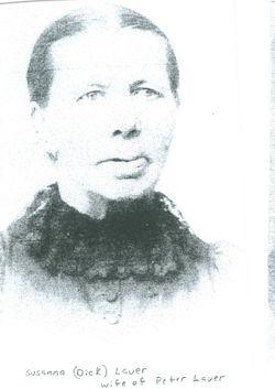 Susanna Louisa <i>Dick</i> Lauer