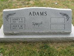 Alice Marie <i>Pelton</i> Adams