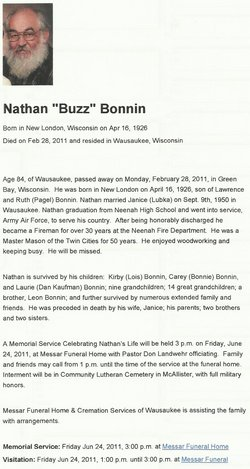 Nathan L. Buzz Bonnin