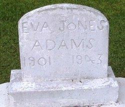Eva Mae <i>Jones</i> Adams