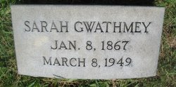 Sarah Gwathmey