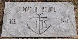 Rose <i>Buczek</i> Behnke