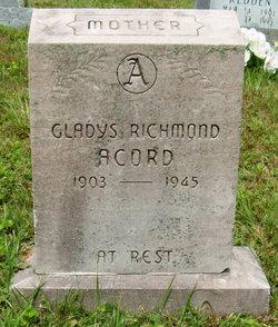 Gladys Dare <i>Richmond</i> Acord