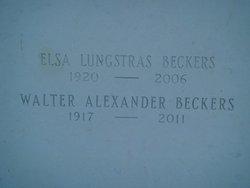 Elsa <i>Lungstras</i> Becker