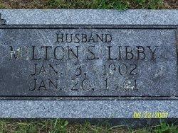 Milton Stevens Libby