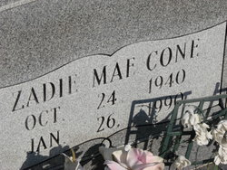 Zadie Mae Cone