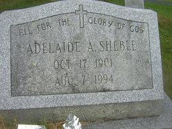 Adelaide Augusta Sheble