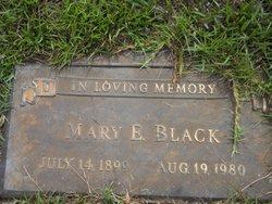 Mary E Black