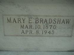 Mary E <i>Dustman</i> Bradshaw