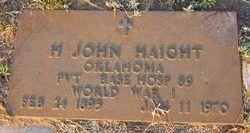 H. John Haight
