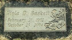 Viola Doshie <i>Sparks</i> Baskett
