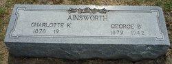Charlotte Lottie <i>Kelleher</i> Ainsworth