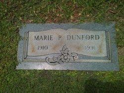 Marie P <i>McClellan</i> Dunford