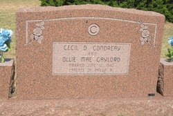 Cecil D. Condreay