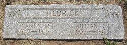 Nancy Mehitable <i>Hazelton</i> Hedrick