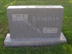Ida <i>Carlson</i> Bergman