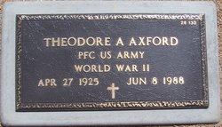 Theodore A Axford