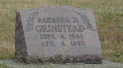 Barbara <i>Snyder</i> Grinstead
