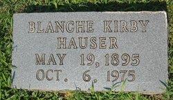 Minnie Blanche <i>Kirby</i> Hauser