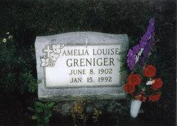 Amelia Louise <i>Stram</i> Greniger