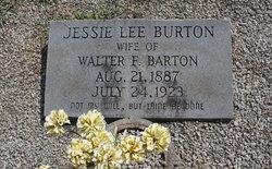 Jessie Lee <i>Burton</i> Barton