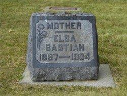 Elsa Elsie <i>Greve</i> Bastian