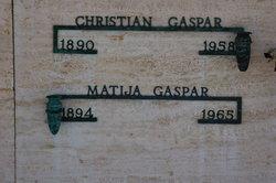 Matija <i>Gasparovich</i> Gaspar
