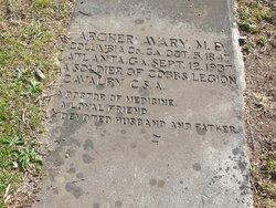 Dr Archer Arch Avary, Sr