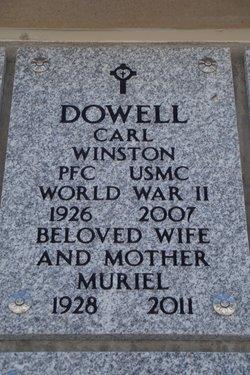 Muriel Lou <i>Ormsby</i> Dowell