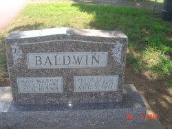 Pryor Leslie Baldwin