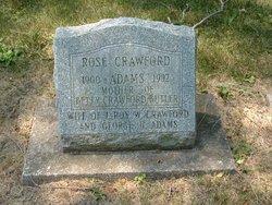 Rose Crawford Adams
