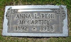 Anna L <i>Reid</i> McCarthy