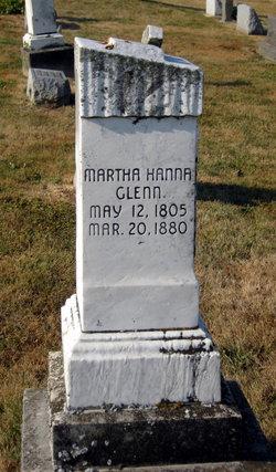 Martha Winifred Patsy <i>Hanna</i> Glenn