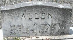 Mildred <i>Jones</i> Allen
