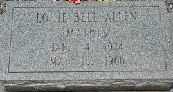 Louie Bell <i>Allen</i> Mathis